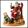 Resin Santa Claus christmas decoration