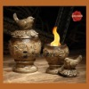 ceramic warmer lamp oil burner flame pot flame pit