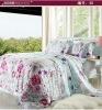 classic tencel double size bedding set/sheet set with reactive print