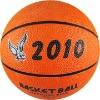mini rubber basketball for promotion