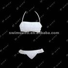 O-KISS brand young lady two piece skirt bikini style summer beach wear