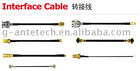 Coaxial pigtail cable
