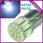 New 3020 50-LED BA15S SMD Brake/Tail Light Bulb Cold White DC 12V