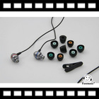 VISANG VS-K2M with MIC Inner-Ear Silver Cord HiFi Stereo Audio Earphones earphone