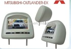 MITSUBISHI Headrest monitor for MITSUBISHI-OUTLANDER-EX car audio car dvd