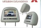 MITSUBISHI Headrest monitor for MITSUBISHI-OUTLANDER-EX car audio car dvd