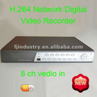 H.264 8CH Economic DVR FJ-7709AV