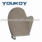Waffle exfoliate body bath gloves (GS0001)