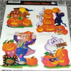 Static cling window film for hallowmas