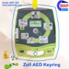 Hot-sale custom-made AED promotion keychain light zoll defibrillator zoll aed