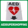AED Flat signs/AED flat wall sign metal/Zoll AED Plus Flat Wall Sign/Signage&Defibtech/Automated External Defibrillator signs