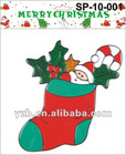pvc Christmas window sticker
