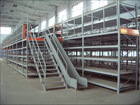 multi-tier shelving