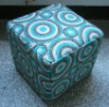 Different kinds of Printed cotton ottoman stool