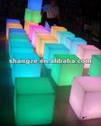 lighting led cube stool
