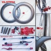 Hot 700C Full Carbon Wheel set/Tubular Wheelset/88mm//Chosen hub