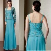 2013 new design chffion lace jacket mother of bridal dress wm201307