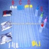 High quality disposable foam tip spiral tip and foam tip gilt catheters with or without handles and plugs