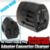 UK EU USA AU Universal Travel USB AC Power Supply Plug Adapter Converter Charger