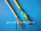 Cat.6A patch cord molded with RJ45