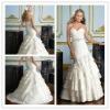 Goingwedding sweetheart bling wholesale designer wedding dresses with long train 2013 MR023