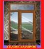 aluminium window GF-W027 with glass