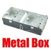 electric indoor and out door metal switch box