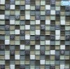 Glass Mosaic with Unique Combination Glass GS100-C