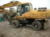 Used Hyundai Wheel Excavator R210-5W in good price