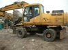 Used Hyundai Wheel Excavator R210-5W in good price