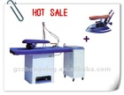 YTTD flatwork ironer, ironing board, used industrial steam boiler