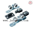 Sliding gate roller for sliding door with metal and bearing