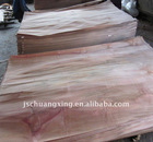 red natural face wood veneer