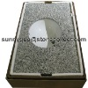 China Rosa Bata granite countertop & Vanity sinks