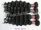 Brazilian virgin hair weft