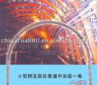 U36 channel steel arch structures for tunnel supporting