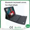 Leather Bluetooth Keyboard Covers for IPad 1&2&3