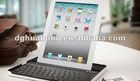 Hottest,Built-in wireless Bluetooth keyboard for ipad2 Aluminum alloy Case