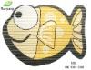 2012 Lovely Fish Shape Non-slip Decorative Floor mats/Bath Mats