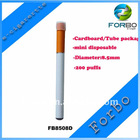 Disposable e-cigarette 8.5mm Hot!Cheapest disposable e-cigarette 200 puffs Chrimas Gift