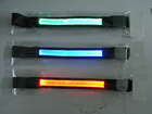 Orange Led flash arm band led sporting band led light band