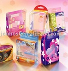 small plastic box with sliding lid