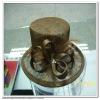 handmade fashion decorative hat flower