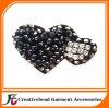 glass bead rhinestone shoe flower