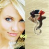new fashion pupular #60 24inch Eurasian 100% remy straight tape hair extensions