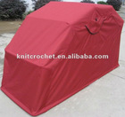 Galvanized Steel Frame Motorcycle Cover