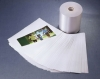 Polyester Satin Label Reversed Coating with PVC