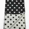 Newest Dot pattern Acrylic Knitted Long decorative scarves