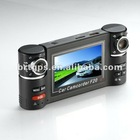 2.7 inch LCD Dual Cameras Car DVR with G-Sensor and SOS