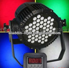outdoor led par light 48*3W waterproof IP67